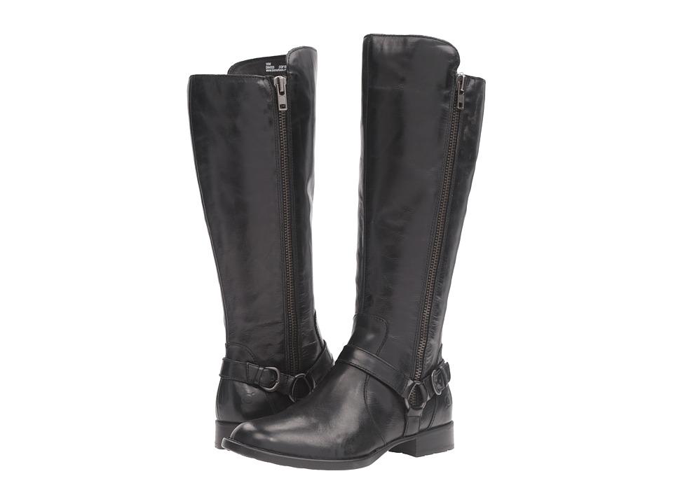 Born - Hagene (Black Full Grain Leather) Women's Shoes