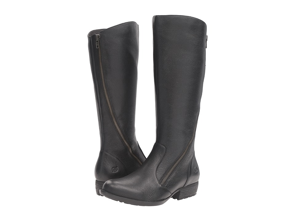 Born - Iona (Black Full Grain Leather) Women's Shoes
