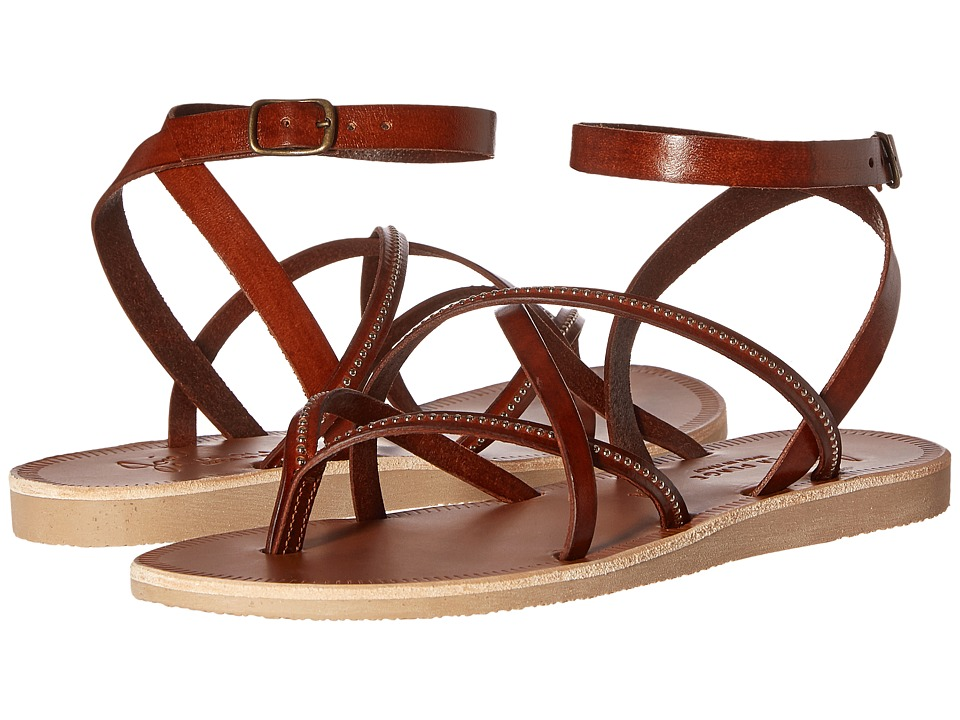 Joie - Oda (Dark Brown/Silver) Women's Sandals