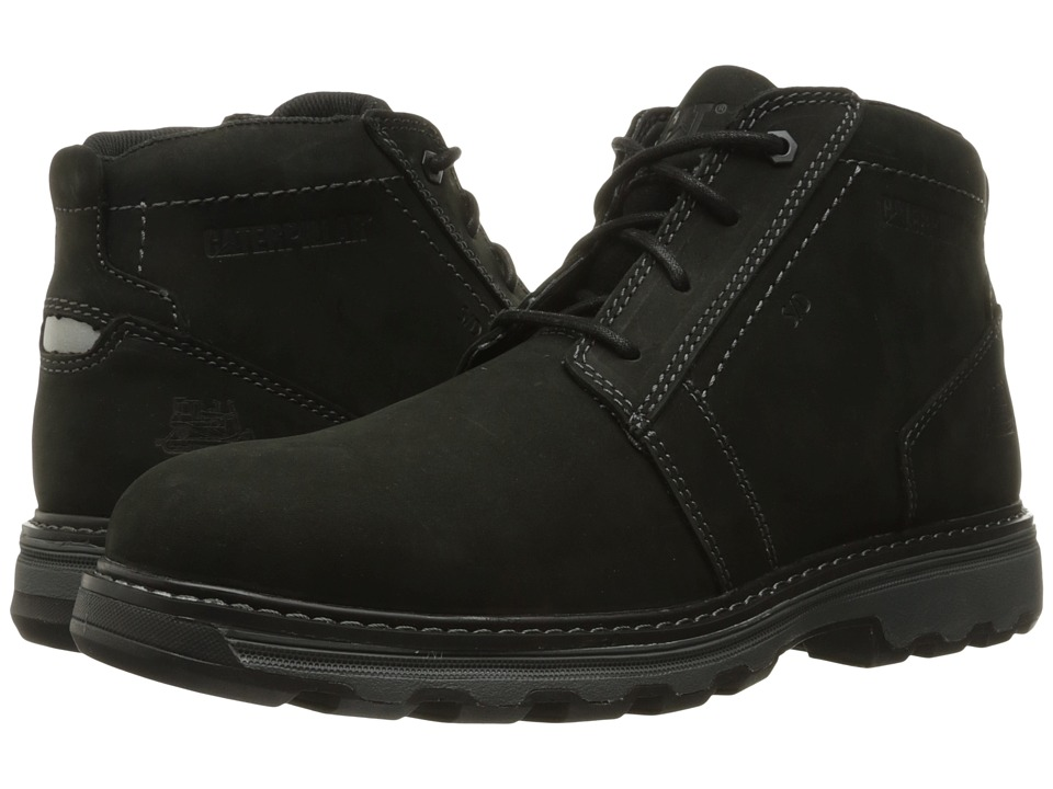 Caterpillar - Parker ESD (Black) Men's Work Lace-up Boots