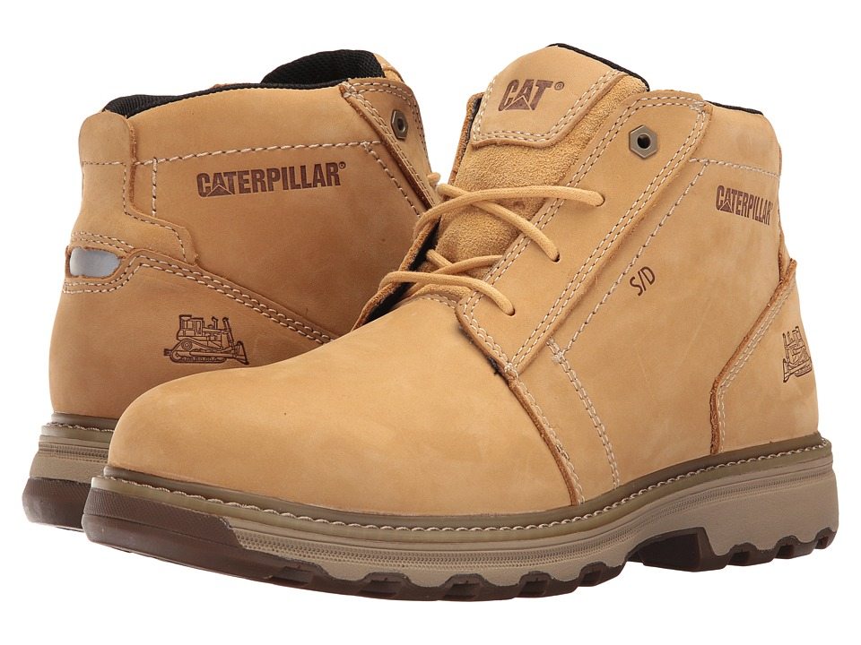 Caterpillar - Parker ESD (Honey Reset) Men's Work Lace-up Boots