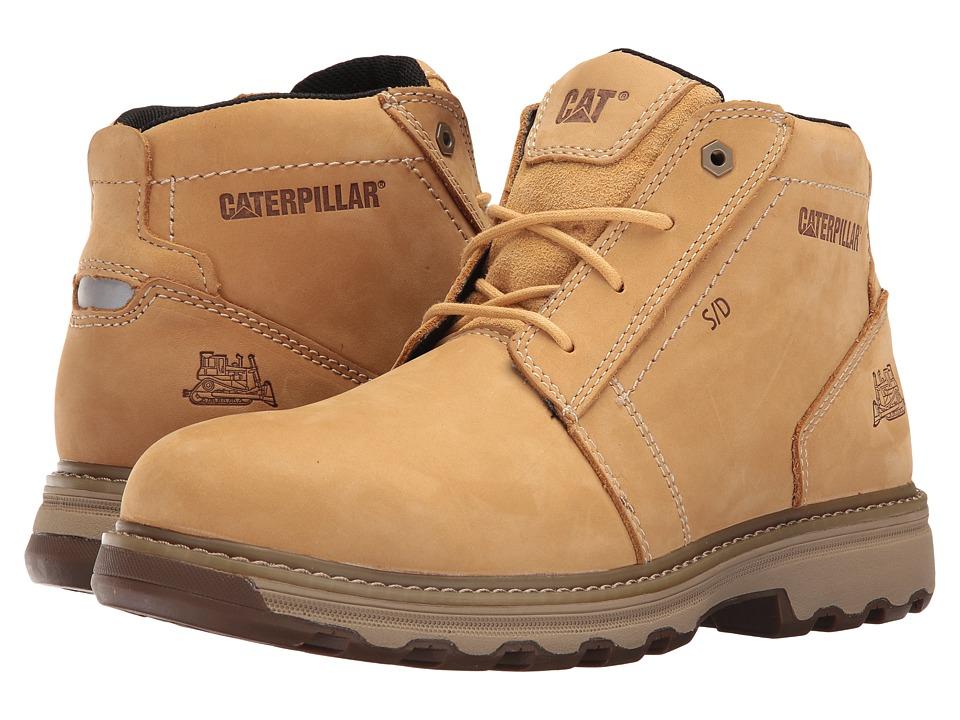 Caterpillar - Parker ESD (Black) Men's Work Lace-up Boots
