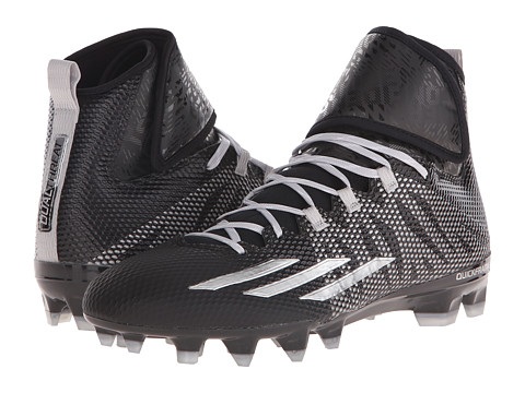 adidas - Dualthreat Mid (Black/Platinum) Men