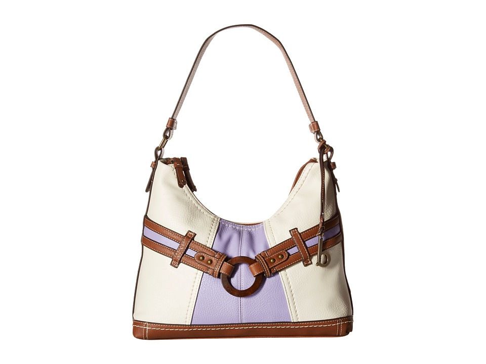 b.o.c. - Nayarit Color Block Scoop Hobo (Purple) Hobo Handbags