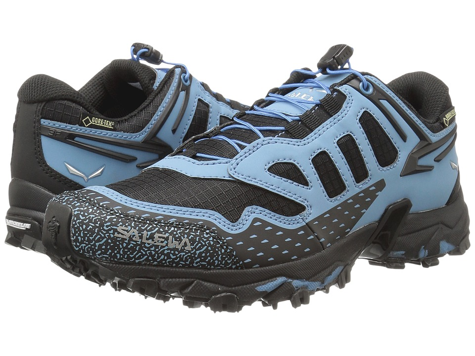 SALEWA - Ultra Train GTX (Black/Blue) Women's Shoes