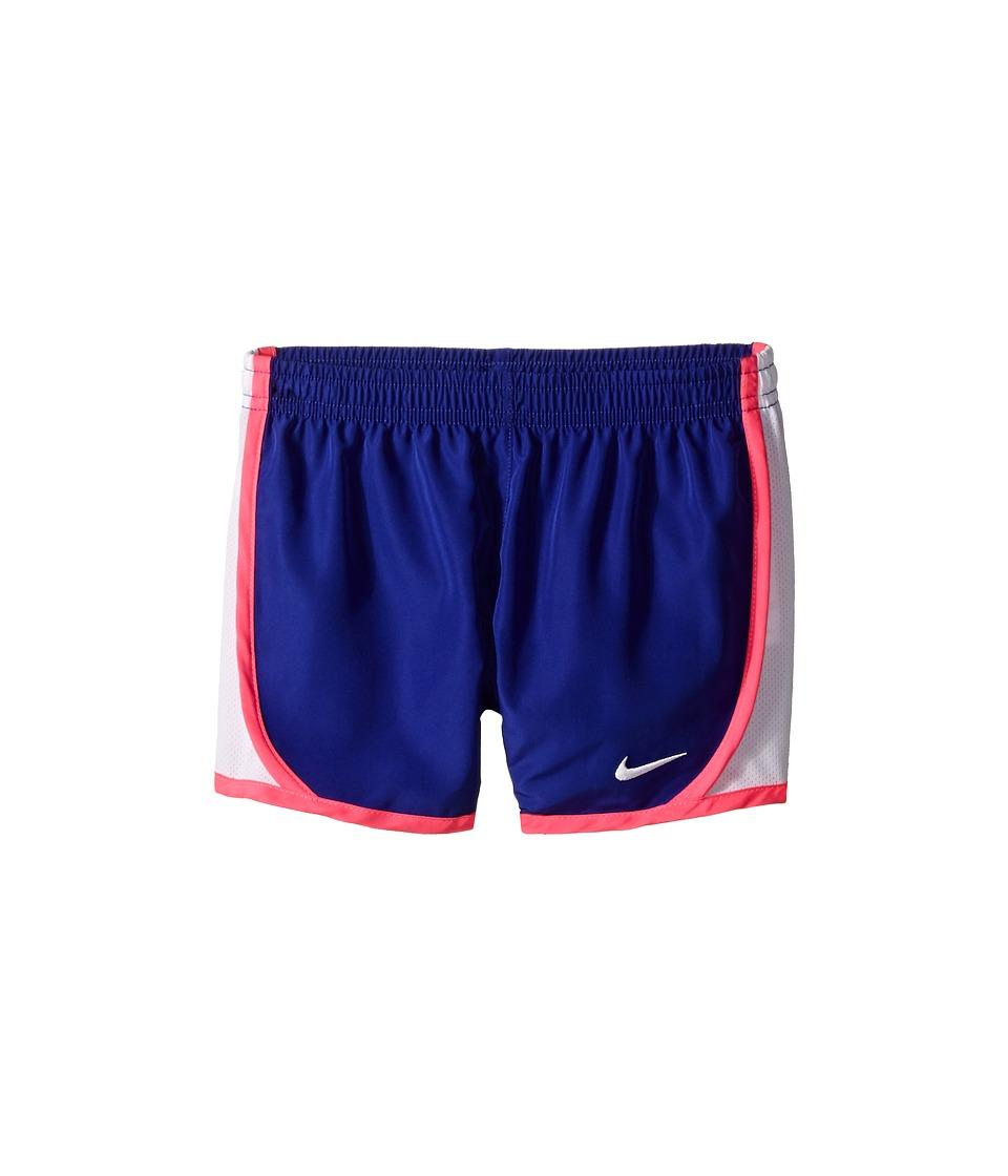 Nike Kids - Dri-FIT Woven Short (Toddler/Little Kids) (Deep Night) Girl's Shorts