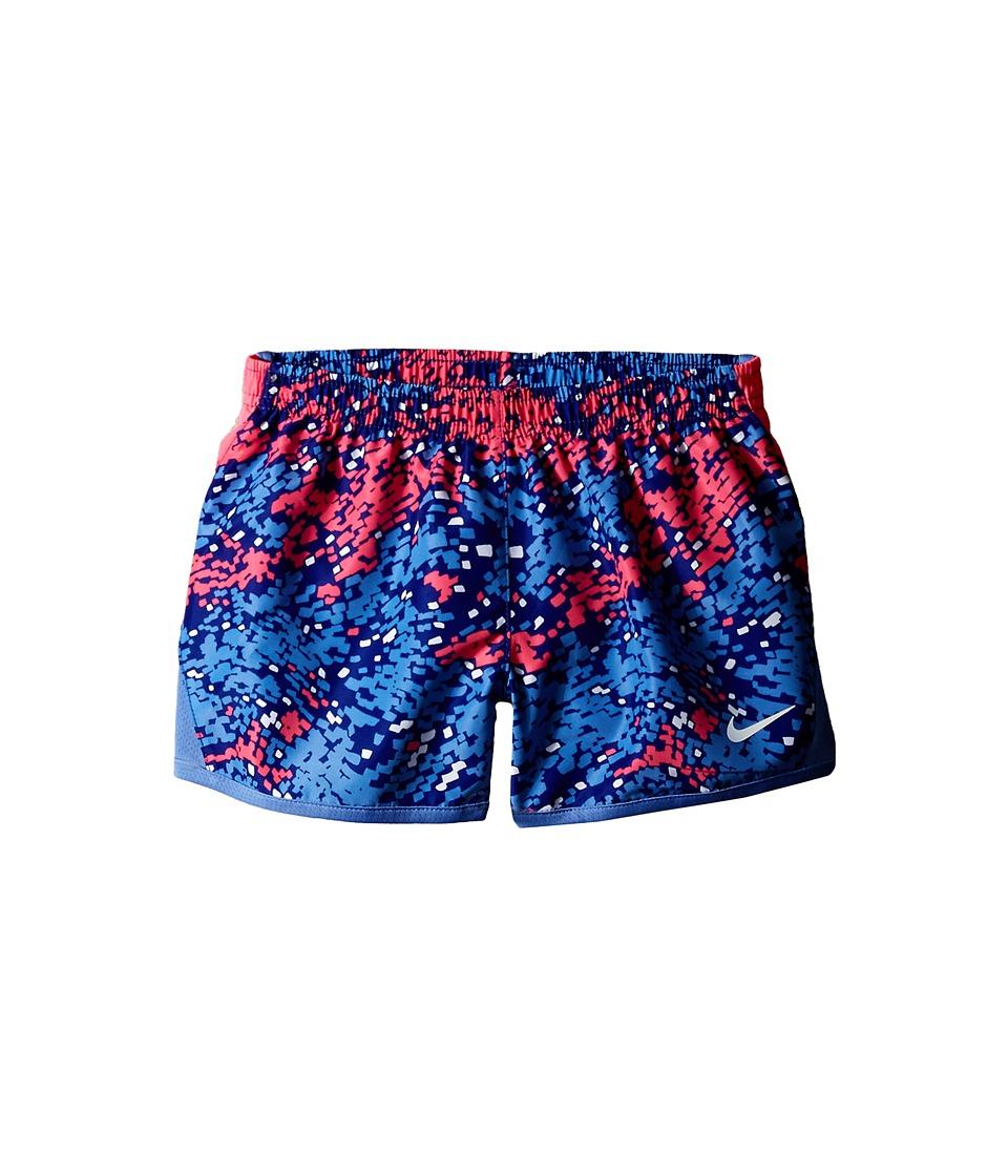 Nike Kids - 10K AOP Woven Shorts (Little Kids) (Deep Night) Girl's Shorts