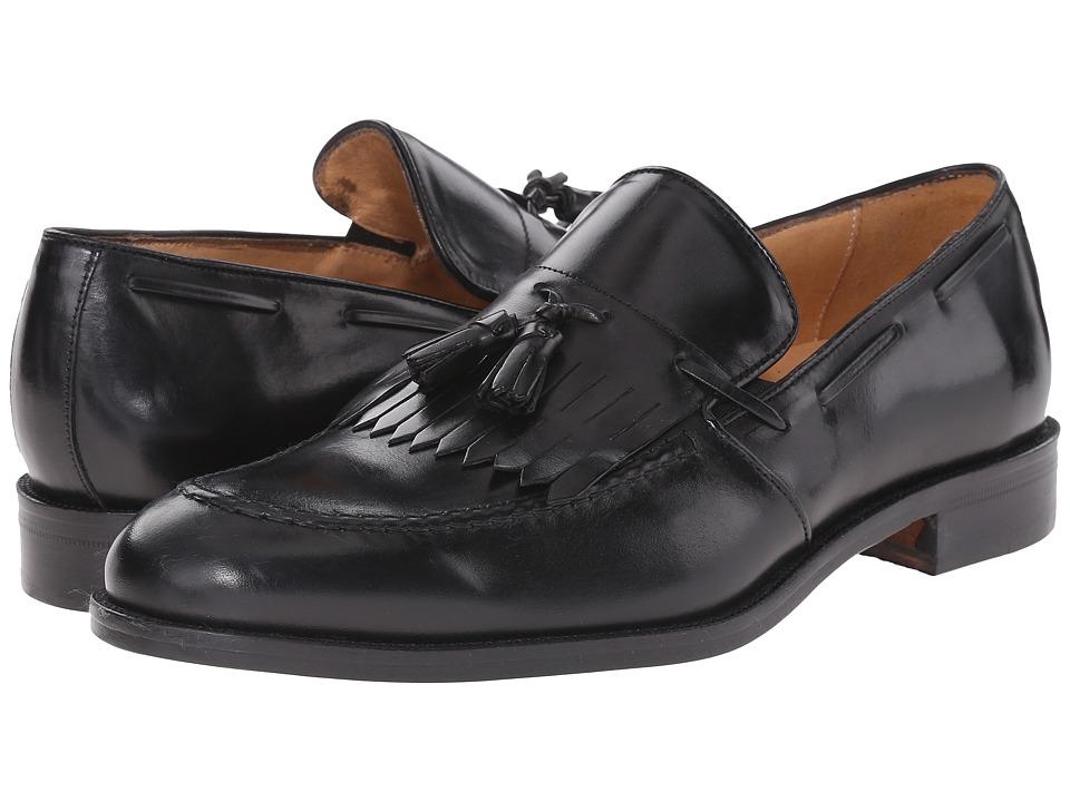 Massimo Matteo - Kilty Tassel Slip-On (Black) Men's Slip on Shoes