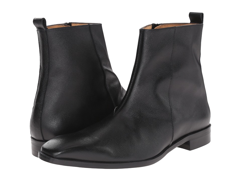 Massimo Matteo Side Zip Boot 16 (Black) Men