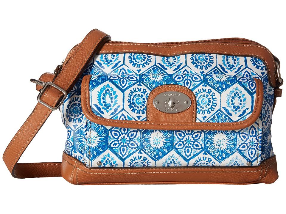 b.o.c. - Rosebank East/West Crossbody Mosaic (Marine) Cross Body Handbags
