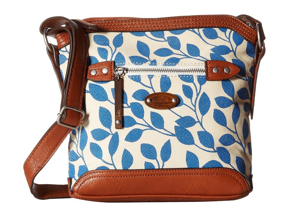 b.o.c. - Santa Barbara Crossbody (Marine Leaves) Cross Body Handbags