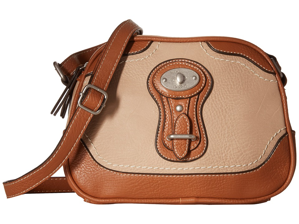 b.o.c. - Chelmsford Rounded Crossbody (Stone) Cross Body Handbags