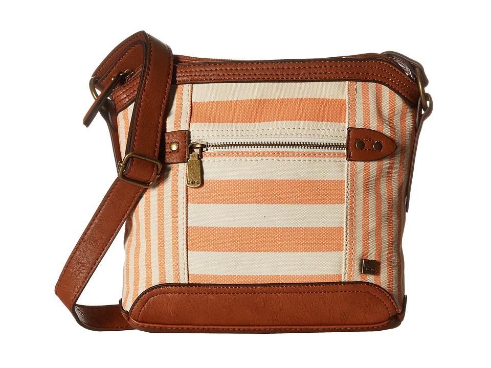 b.o.c. - Lemoore Canvas Crossbody (Coral) Cross Body Handbags