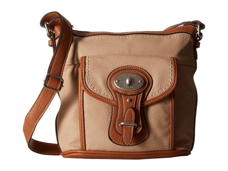 b.o.c. - Chelmsford Large North/South Crossbody (Stone) Cross Body Handbags