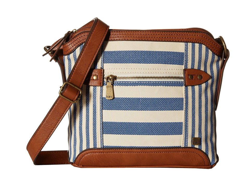 b.o.c. - Lemoore Canvas Crossbody (Marine) Cross Body Handbags