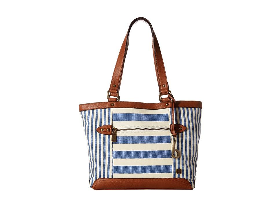 b.o.c. - Lemoore Canvas Tote (Marine) Tote Handbags