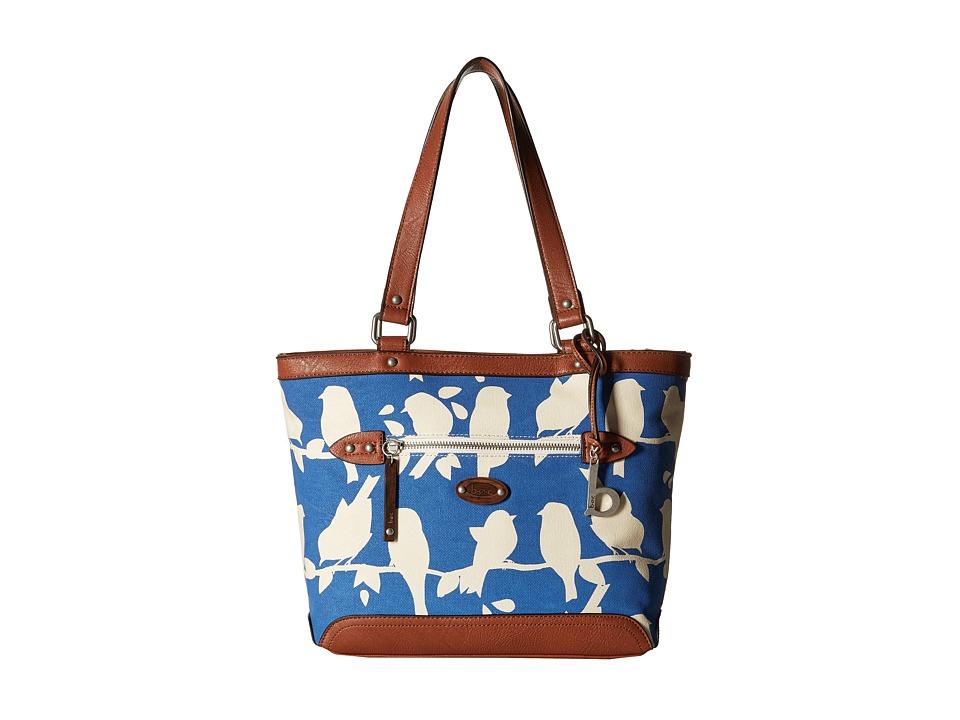 b.o.c. - Santa Barbara Tote (Marine Bird) Tote Handbags