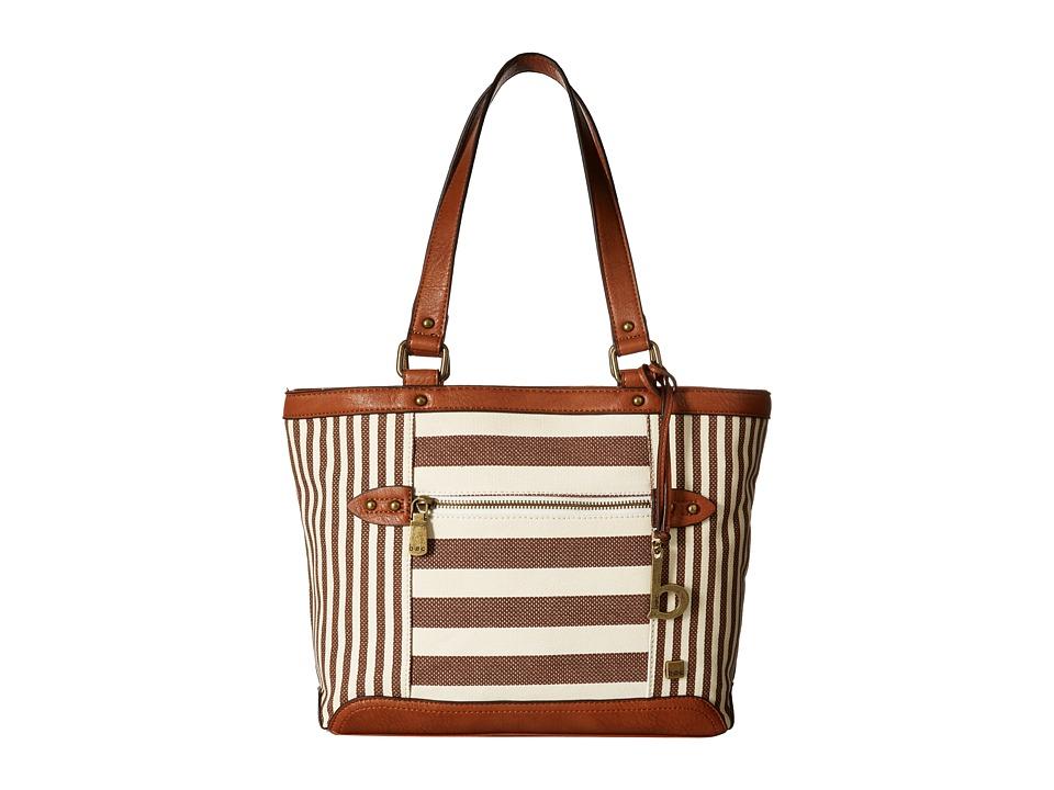 b.o.c. - Lemoore Canvas Tote (Cocoa) Tote Handbags