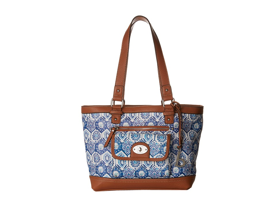 b.o.c. - Rosebank Tote Mosaic (Marine) Tote Handbags