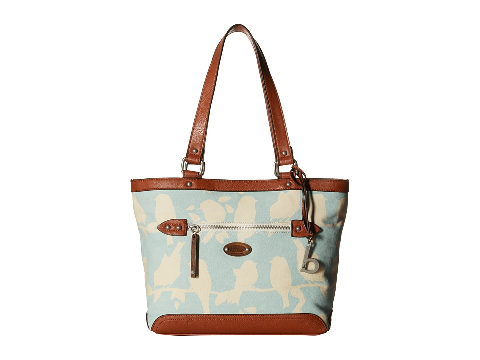 b.o.c. - Santa Barbara Tote (Mint Bird) Tote Handbags