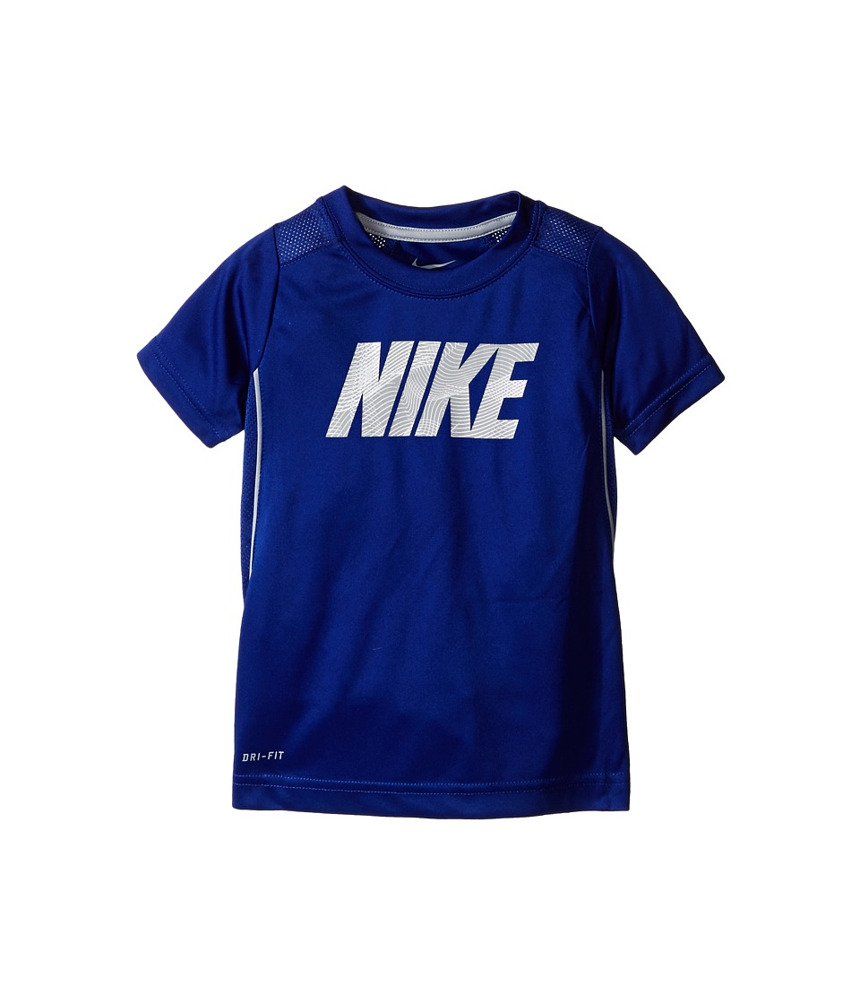 Nike Kids - Legacy GFX Short Sleeve Top (Toddler) (Deep Royal Blue) Boy's Short Sleeve Pullover