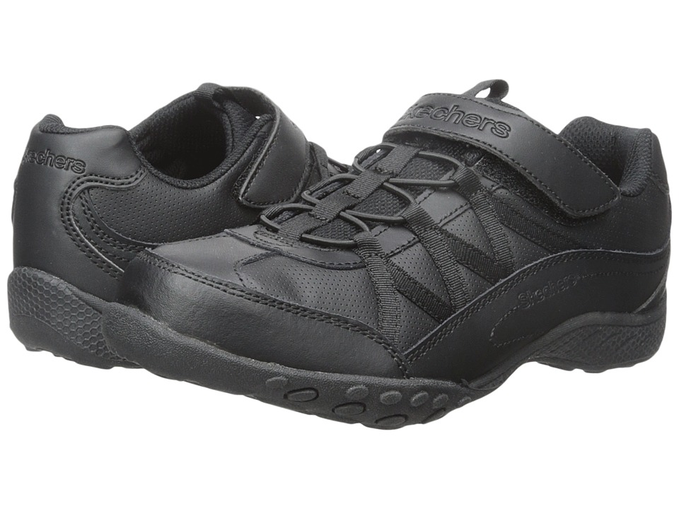 SKECHERS KIDS - Breathe - Easy 82298L (Little Kid/Big Kid) (Black) Girl's Shoes