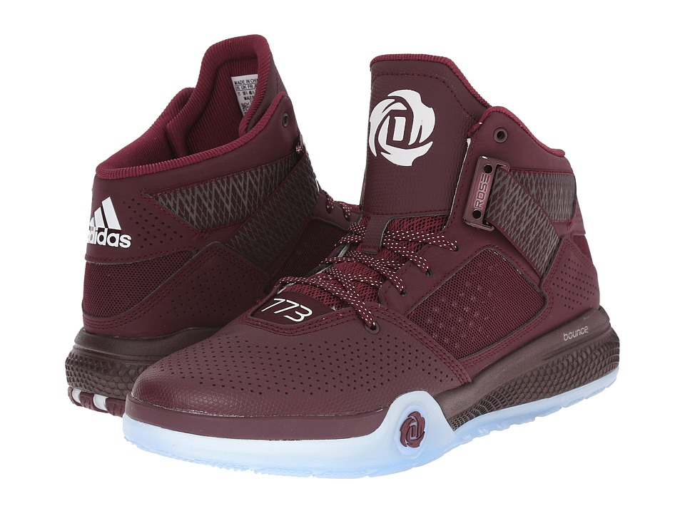 adidas - D Rose 773 IV (Maroon/White/Maroon) Men's Shoes