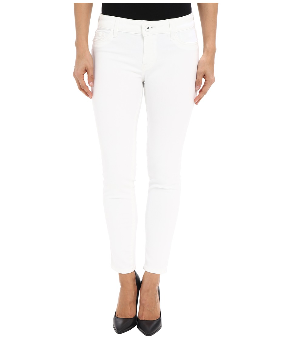 DL1961 - Amanda Petite Skinny in Porcelain (Porcelain) Women's Casual Pants