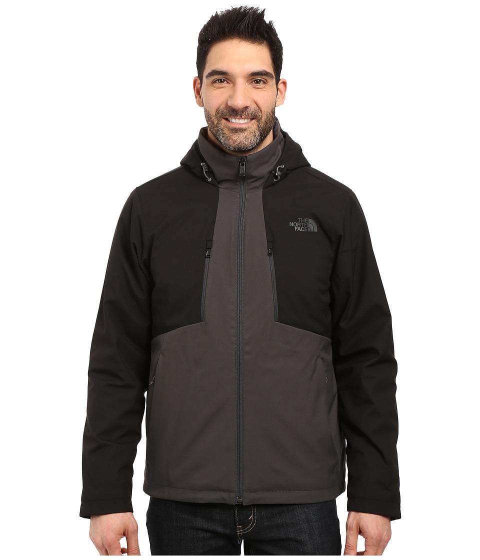 The North Face Apex Elevation Jacket (Asphalt Grey/TNF Black) Men