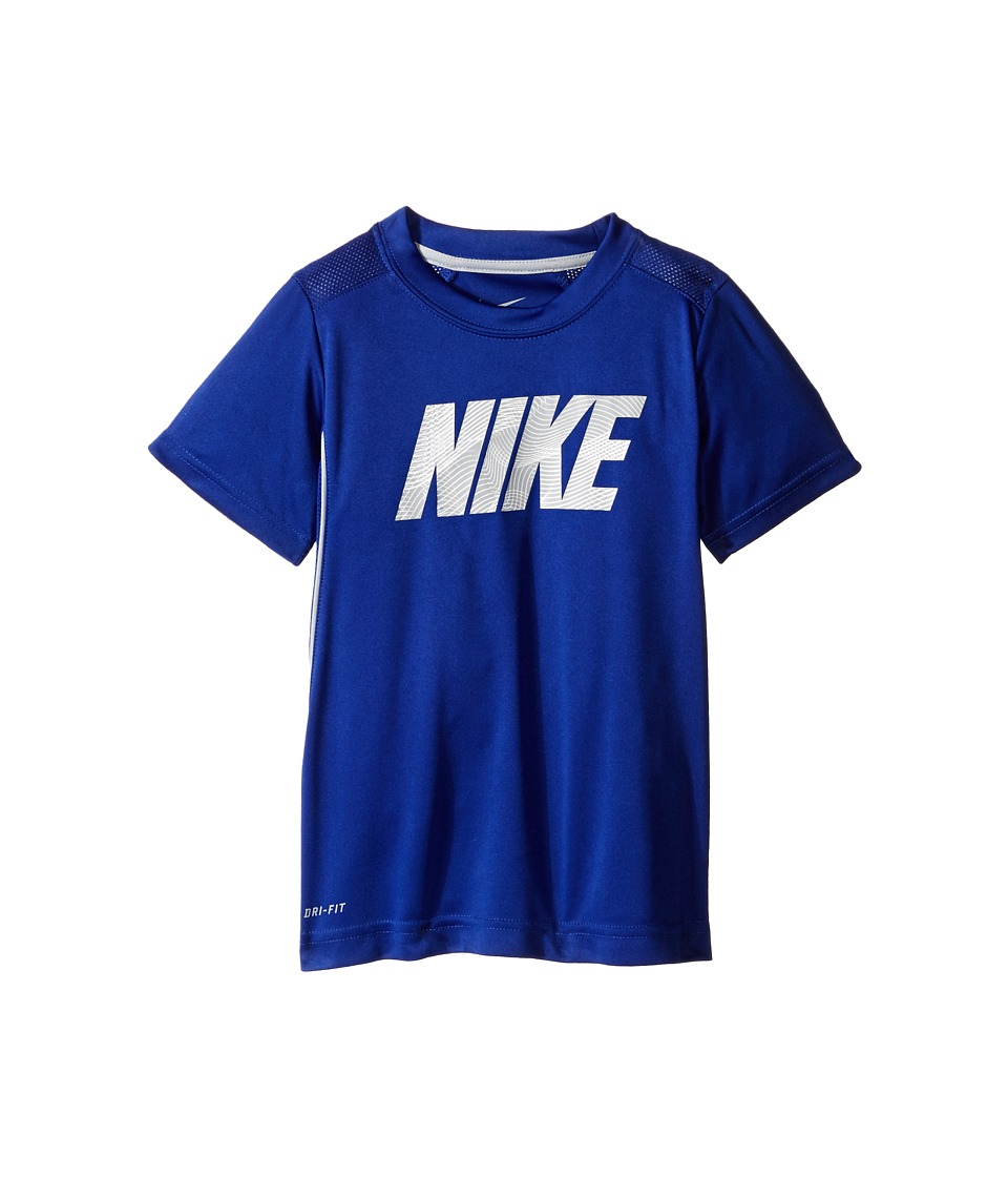 Nike Kids - Legacy GFX Short Sleeve Top (Little Kids) (Deep Royal Blue) Boy's Short Sleeve Pullover