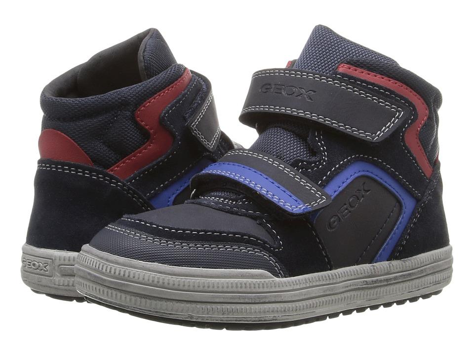 Geox Kids - Jr Elvis 32 (Toddler/Little Kid) (Navy/Royal) Boy's Shoes
