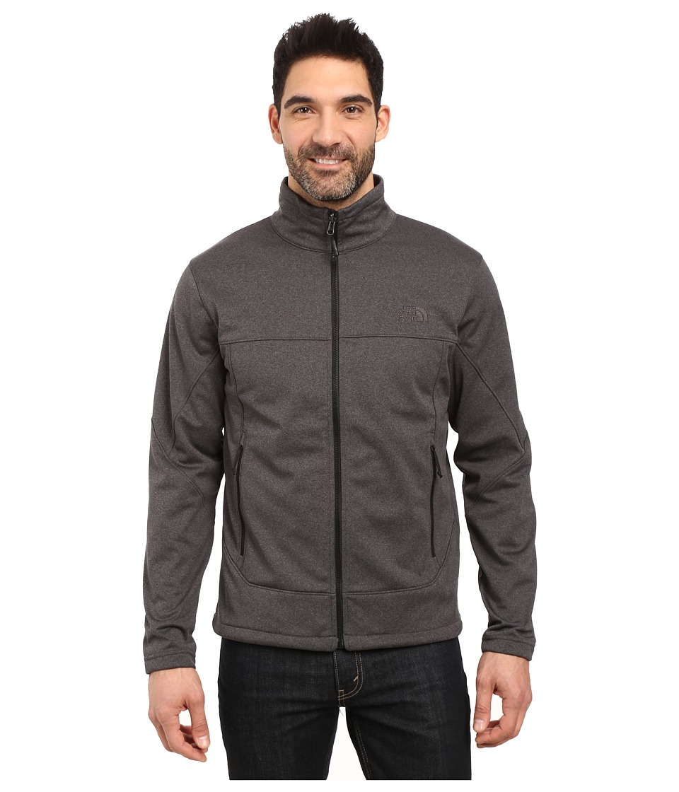 The North Face - Canyonwall Jacket (TNF Dark Grey Heather/TNF Dark Grey Heather) Men's Coat