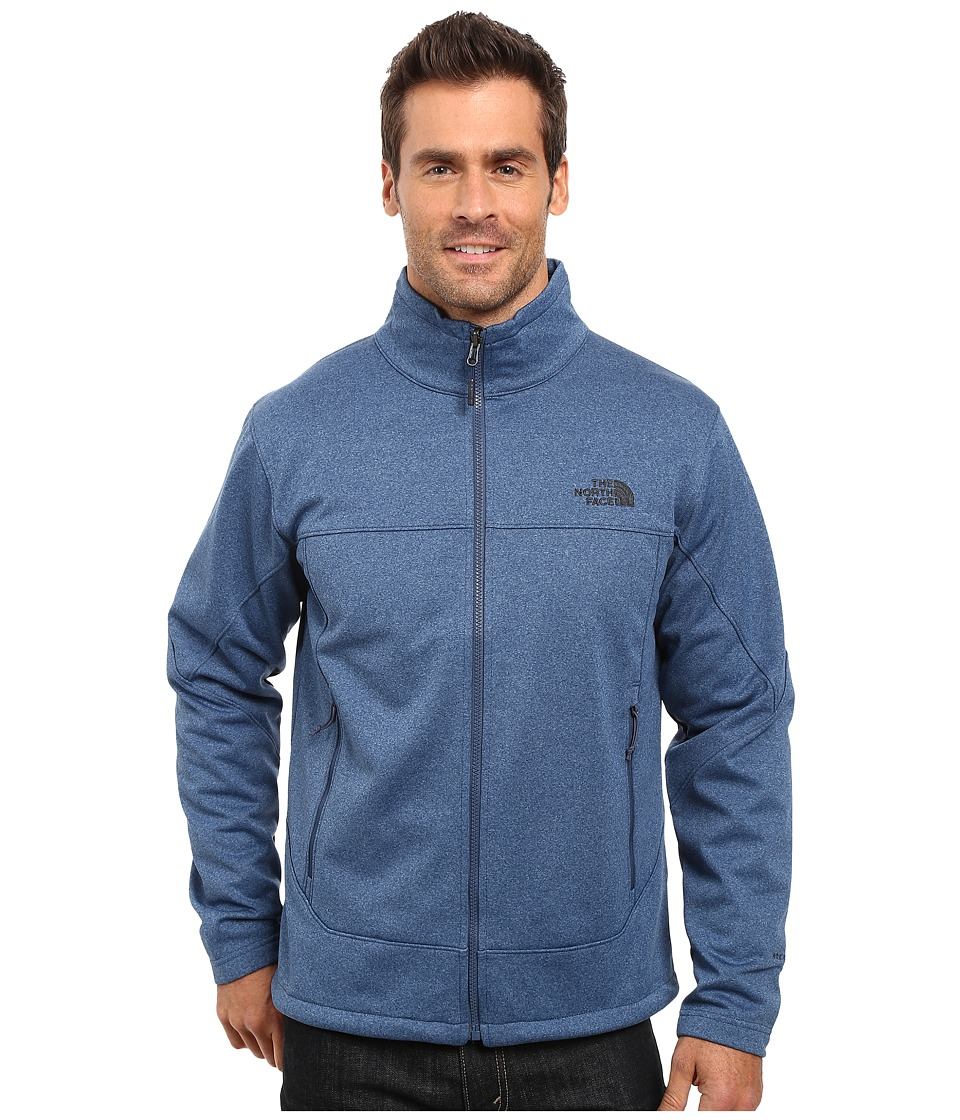 The North Face - Canyonwall Jacket (Shady Blue Heather/Shady Blue Heather (Prior Season)) Men's Coat