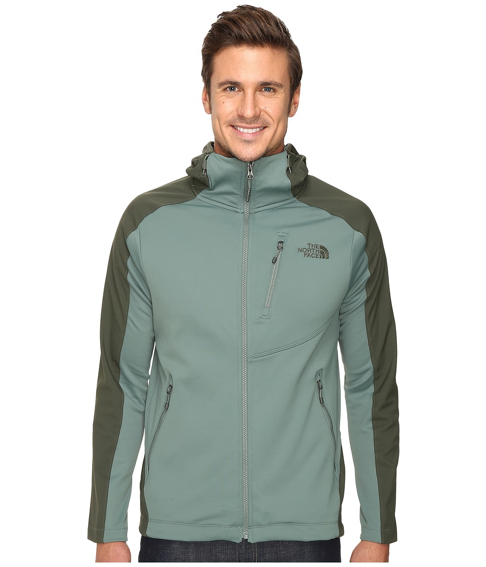The North Face - Tenacious Hybrid Hoodie (Duck Green/Climbing Ivy Green) Men's Sweatshirt