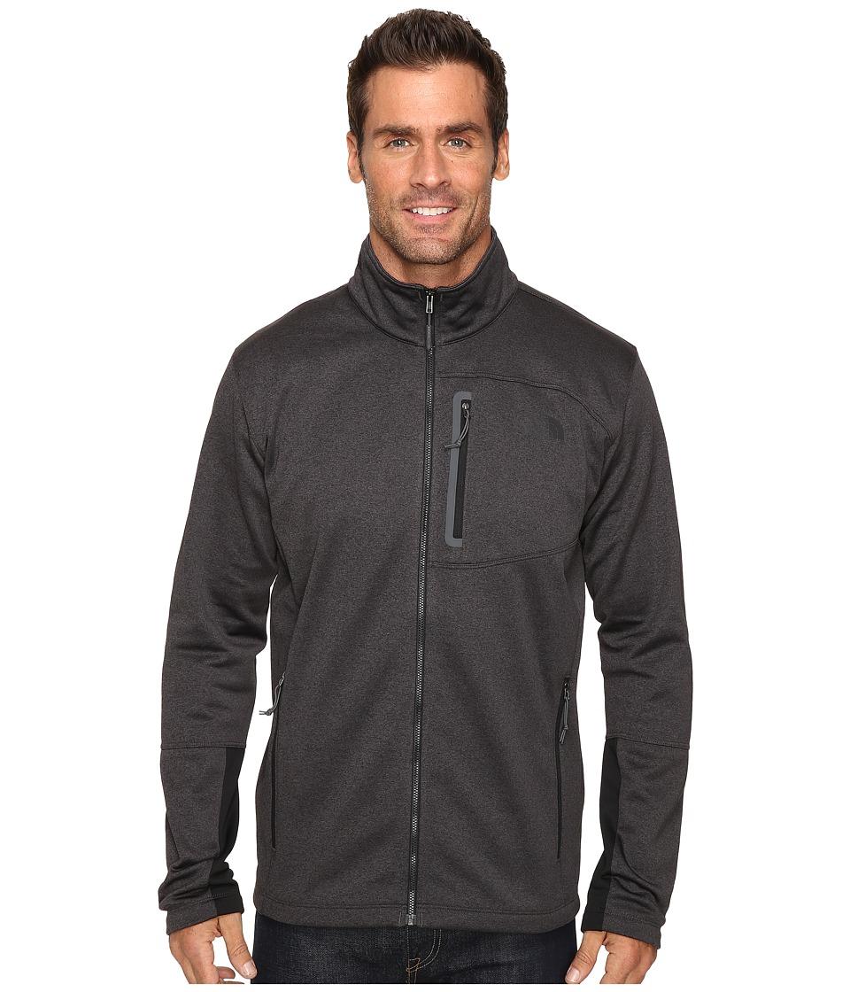 The North Face Canyonlands Full Zip Sweatshirt (TNF Dark Grey Heather) Men