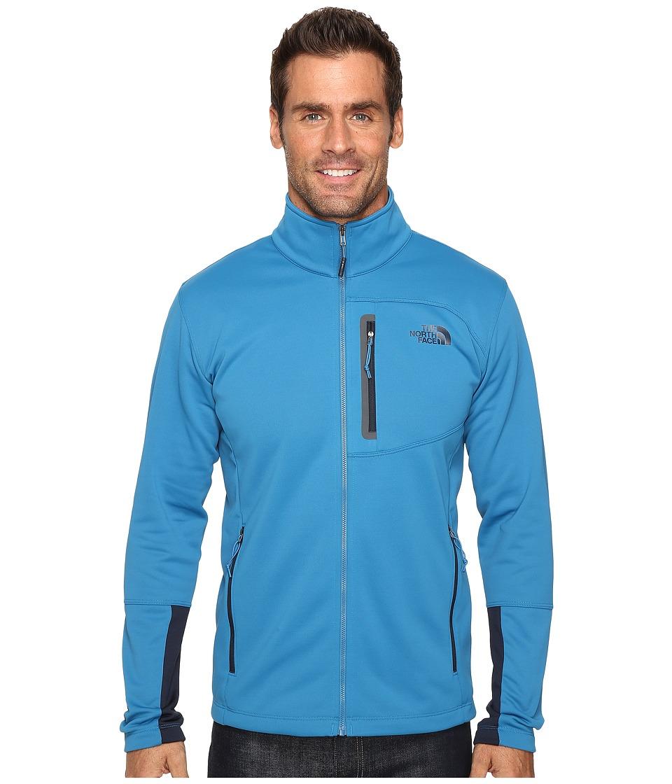 The North Face - Canyonlands Full Zip Sweatshirt (Banff Blue) Men's Coat