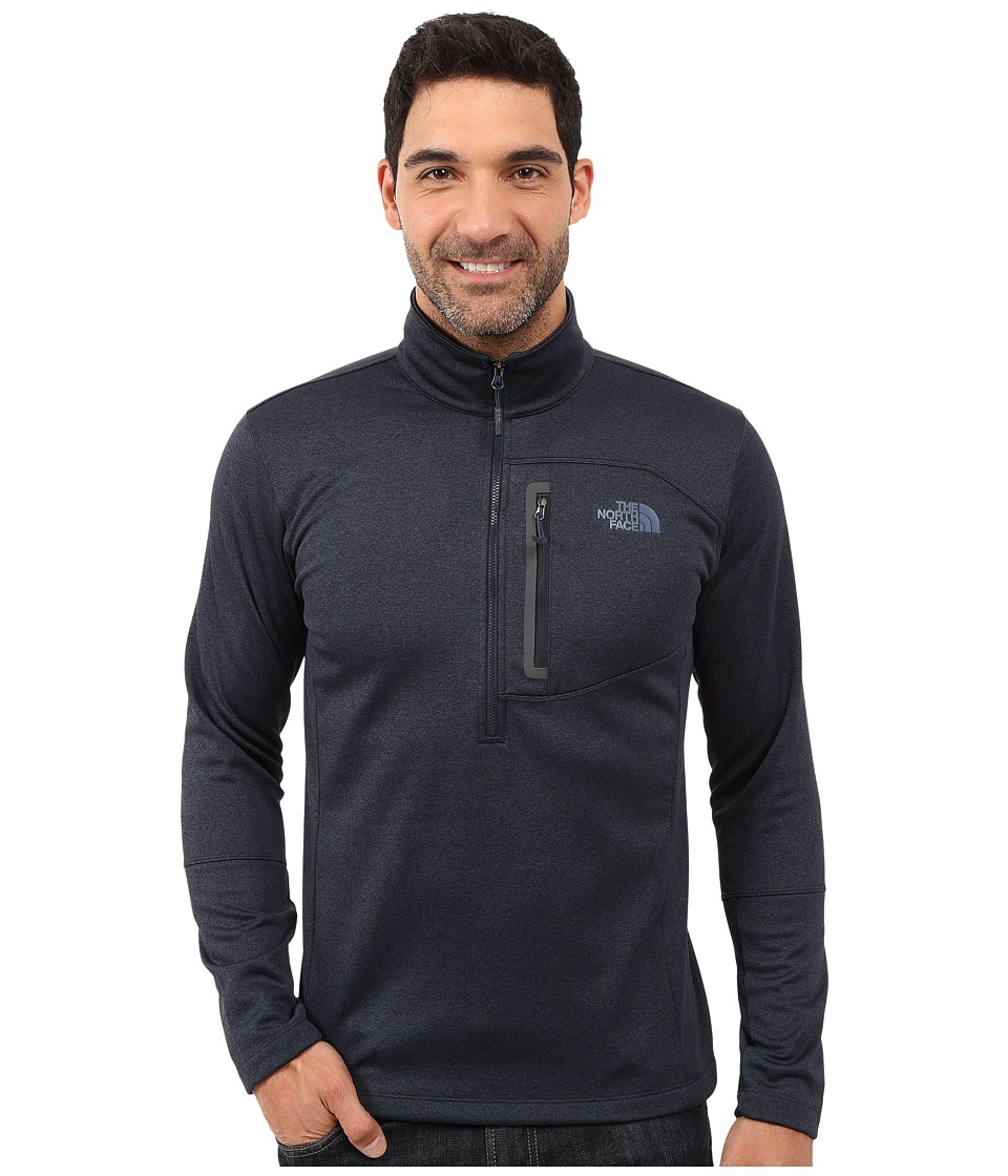 The North Face - Canyonlands 1/2 Zip Pullover (Urban Navy Heather) Men's Sweatshirt