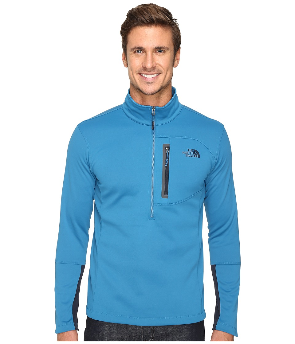 The North Face - Canyonlands 1/2 Zip Pullover (Banff Blue) Men's Sweatshirt