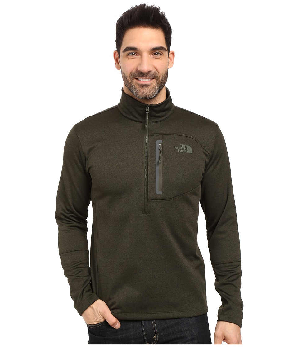 The North Face - Canyonlands 1/2 Zip Pullover (Rosin Green Heather (Prior Season)) Men's Sweatshirt