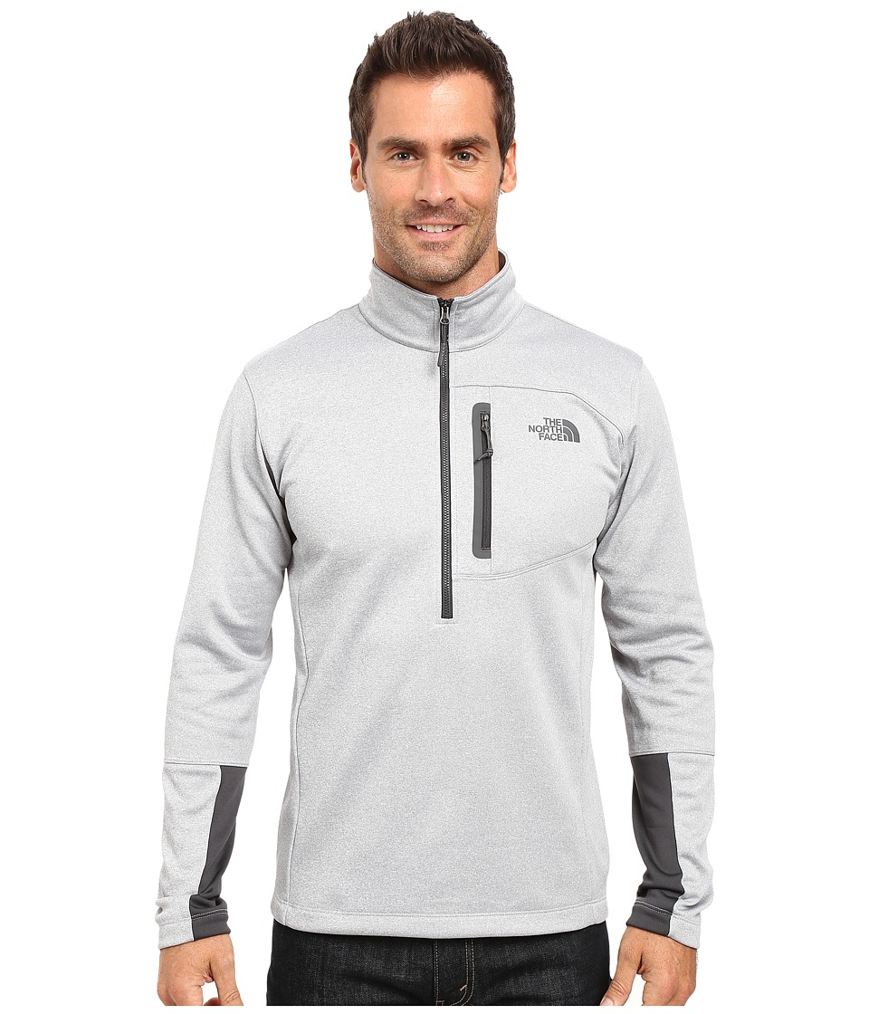 The North Face - Canyonlands 1/2 Zip Pullover (TNF Light Grey Heather) Men's Sweatshirt