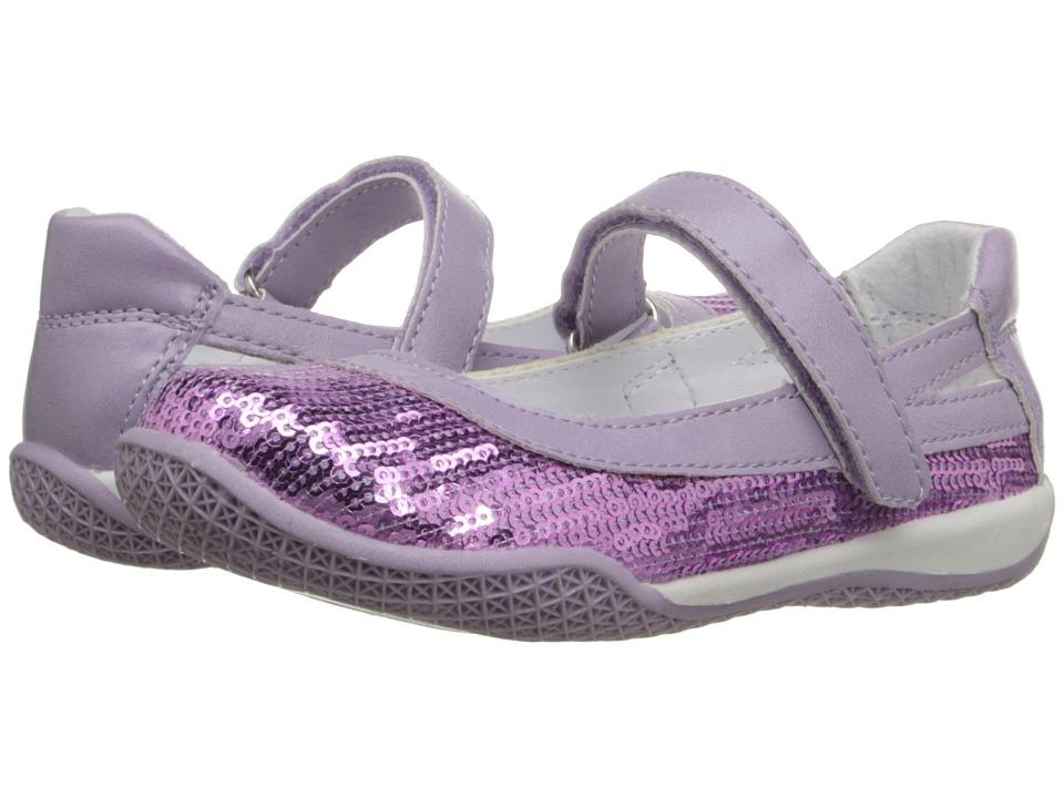 W6YZ Kathy (Toddler/Little Kid) (Purple) Girls Shoes