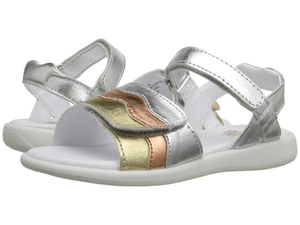 W6YZ - Brenda (Toddler/Little Kid) (Metallic Multi) Girls Shoes