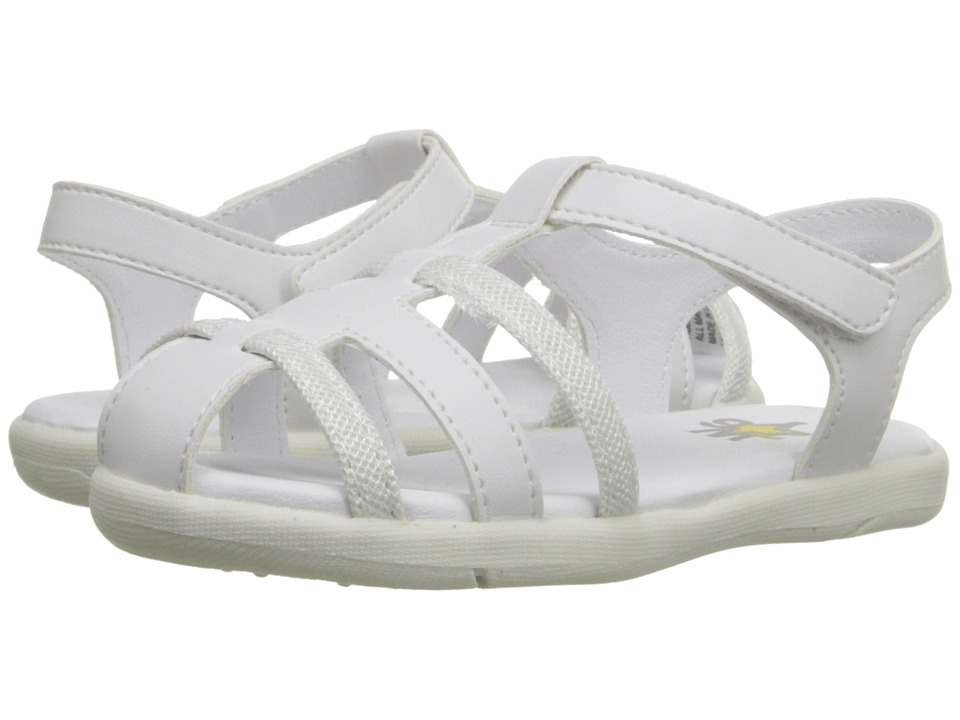 W6YZ - Holly (Toddler/Little Kid) (White) Girls Shoes