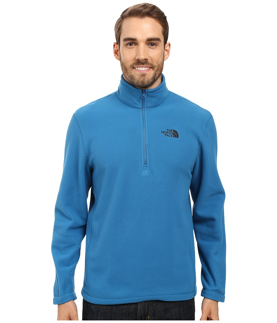 The North Face - TKA 100 Glacier 1/4 Zip (Banff Blue 1) Men's Sweatshirt