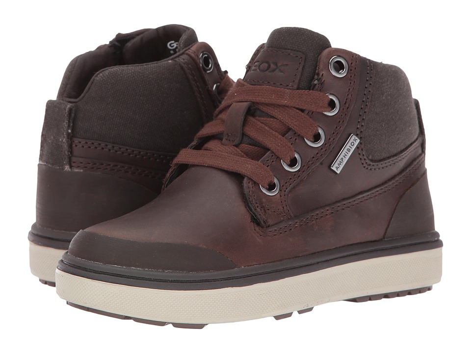 Geox Kids - Jr Mattias B Boy ABX 2 Waterproof (Little Kid) (Brown) Boy's Shoes