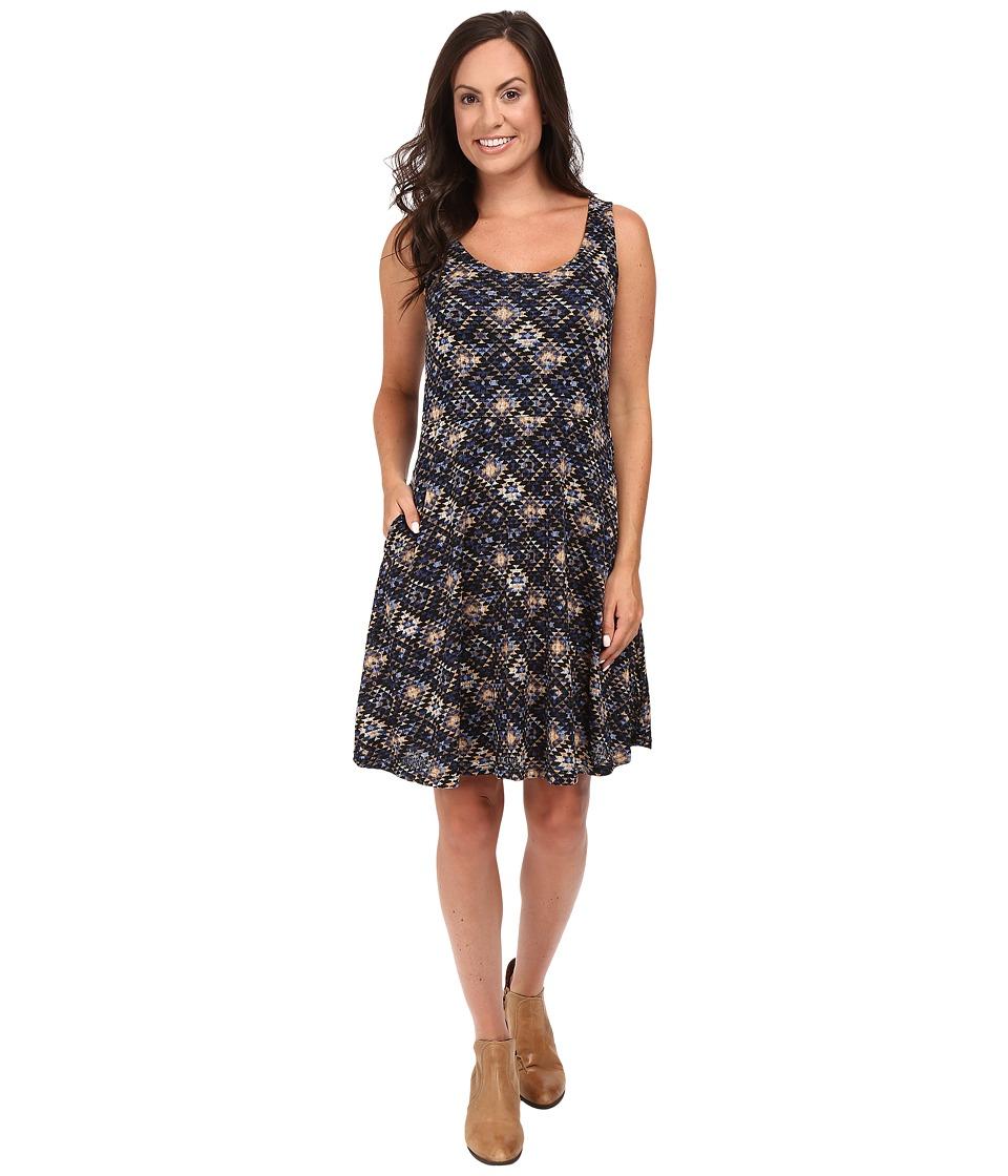 Stetson - Aztec Tapestry Print Tank Dress (Blue) Women's Dress