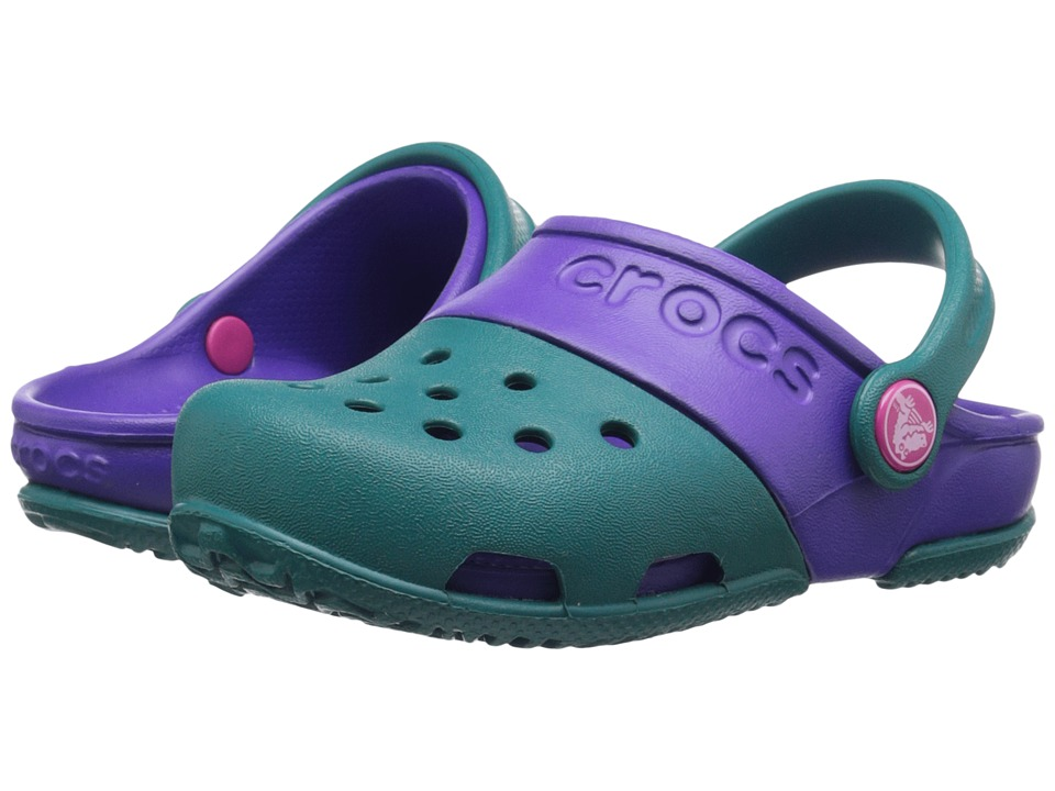 Crocs Kids - Crocs Kids - Electro II Clog (Toddler/Little Kid) (Juniper) Kids Shoes