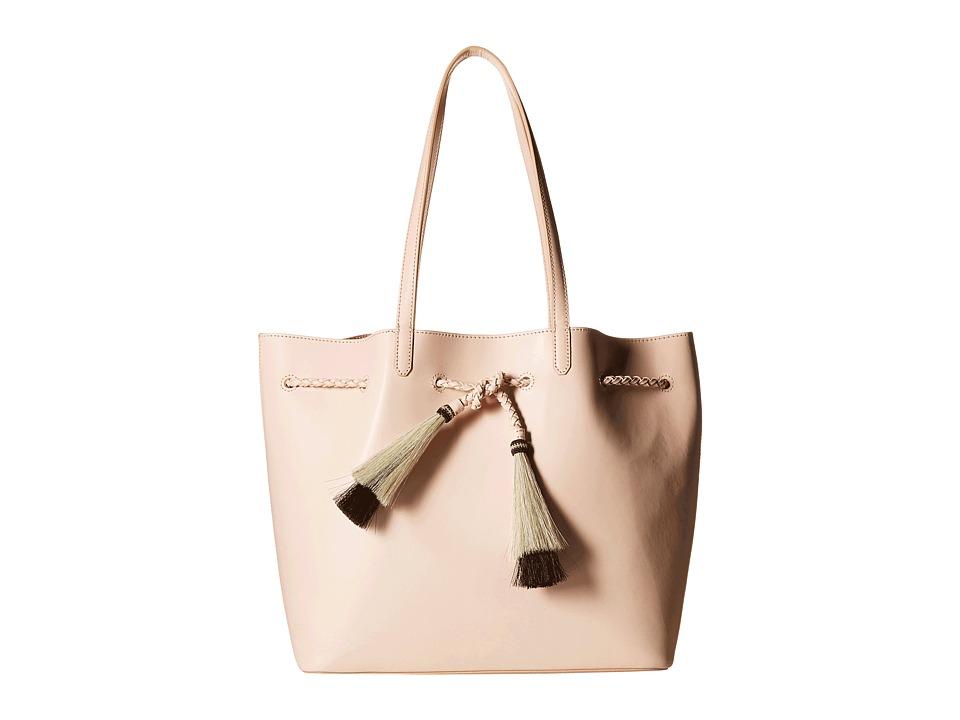 Loeffler Randall - Drawstring Tote (Sand/Natural Black) Tote Handbags