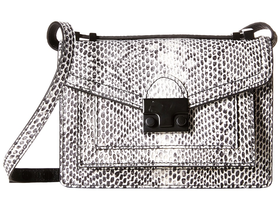 Loeffler Randall - Mini Rider (Black/White) Satchel Handbags