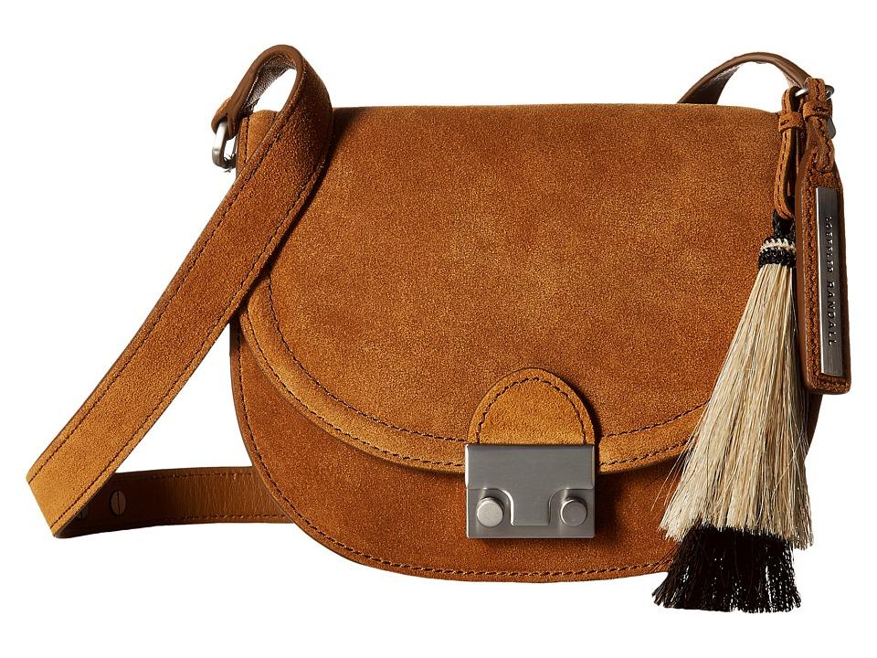 Loeffler Randall - Saddle (Sienna/Natural Black) Handbags